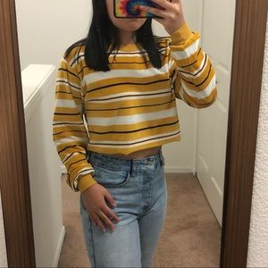 Urban Outfitters striped long sleeve